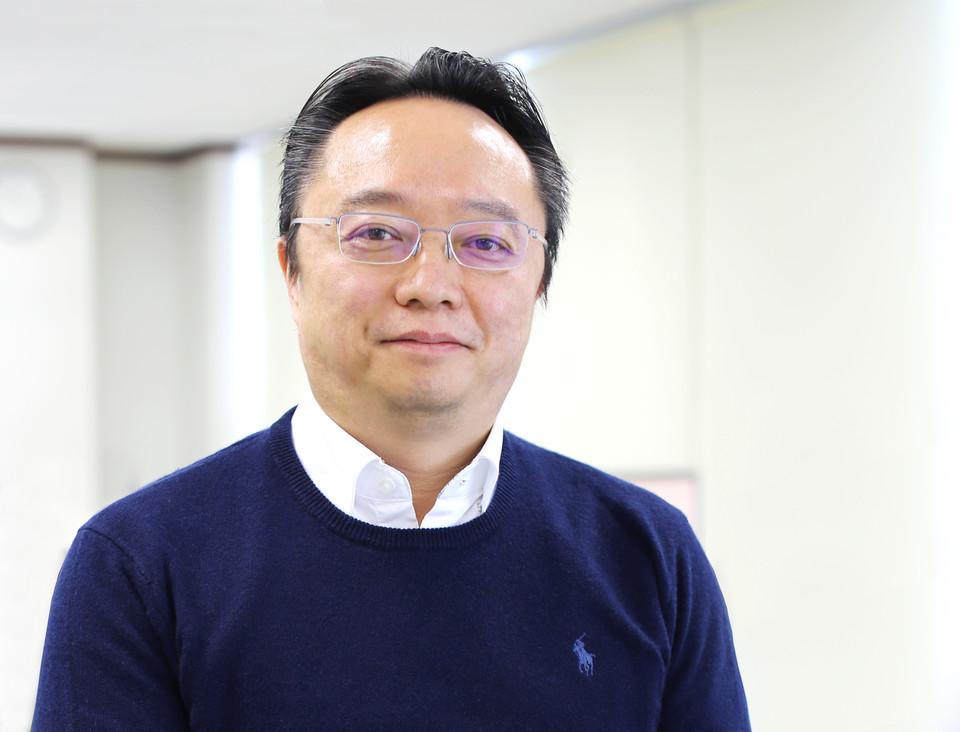 """유흥식 대표는 """"ELFiNOS는 마치 카멜레온과도 같은 솔루션입니다. 제조업은 물론 다양한 산업군에 AI적용이 가능합니다""""라고 강조했다."""