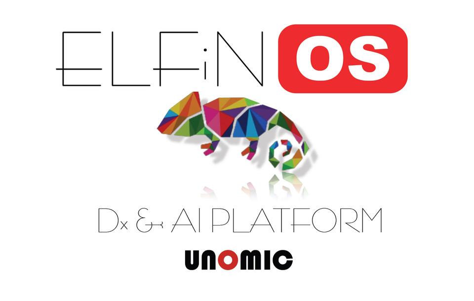 제조 맞춤형 AI 플랫폼인 'ELFiNOS' 로고 이미지