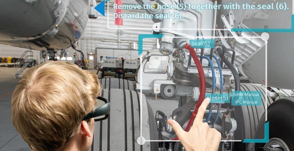 인공지능과 AR이 융합된 IAR-MAP 플랫폼 시연 이미지